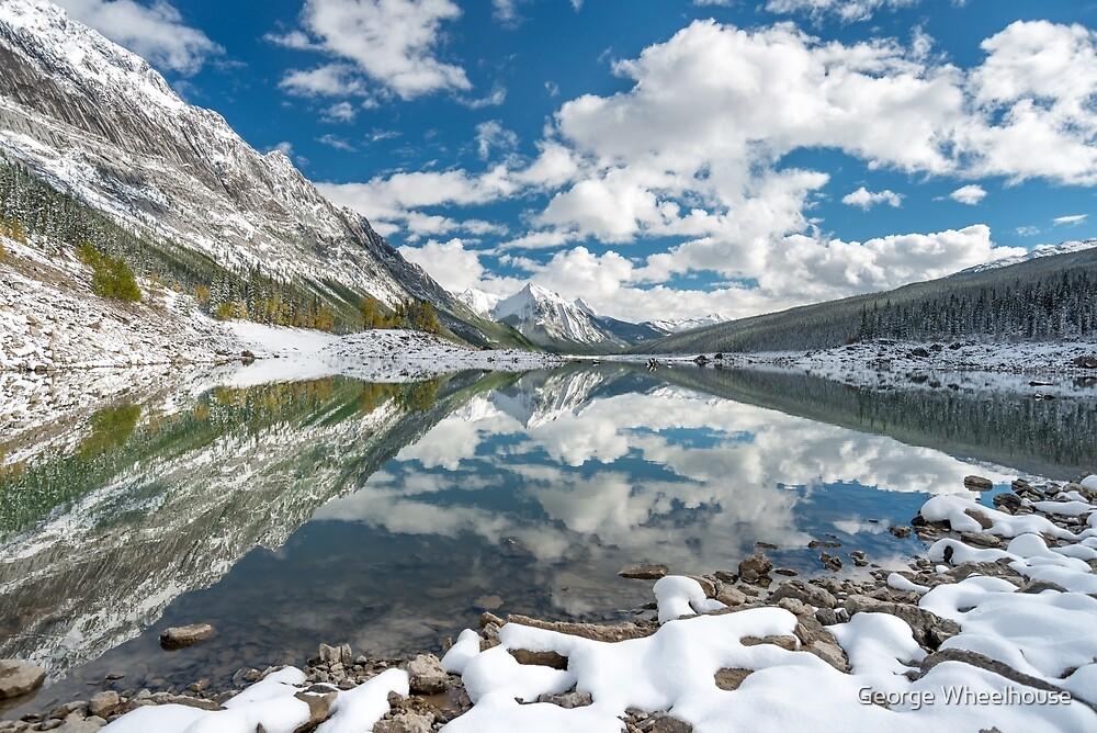 Medicine Lake Reflections by George Wheelhouse