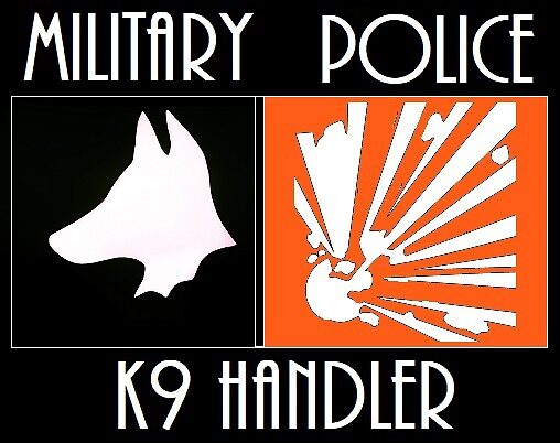 Military Police K-9 by Workingdogs