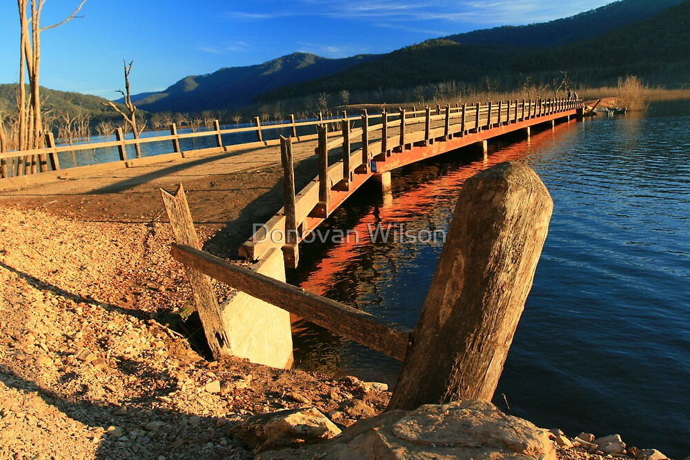 big river bridge  by Donovan Wilson