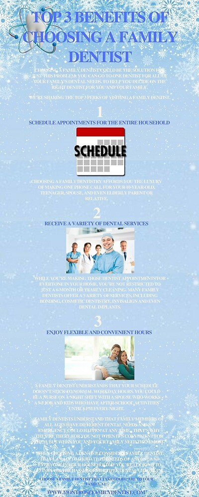 Top 3 Benefits of Choosing a Family Dentist by larrybladem29