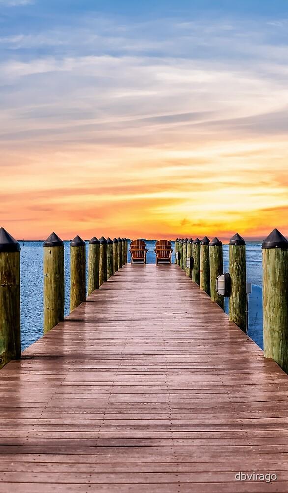 Adirondacks on Pier by dbvirago