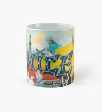 West of Lincoln by Ruth Chase Classic Mug