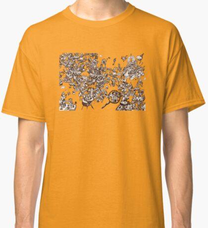 inky_sky_maze_t1 Classic T-Shirt