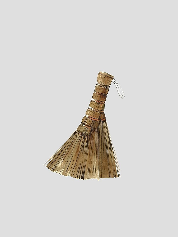 Japanese hand broom by Lunta