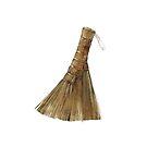 Japanese hand broom by Lunta