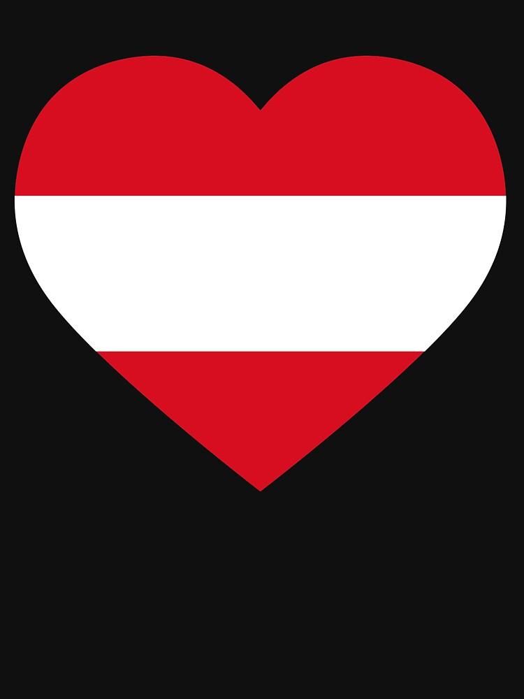 Austrian Heart by Teepack