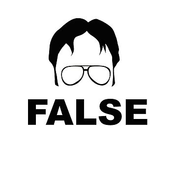 Dwight Schrute False by barrelroll1