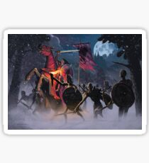 Count Vlad, the Blood Knight Sticker