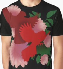 Crested Cardinals Graphic T-Shirt