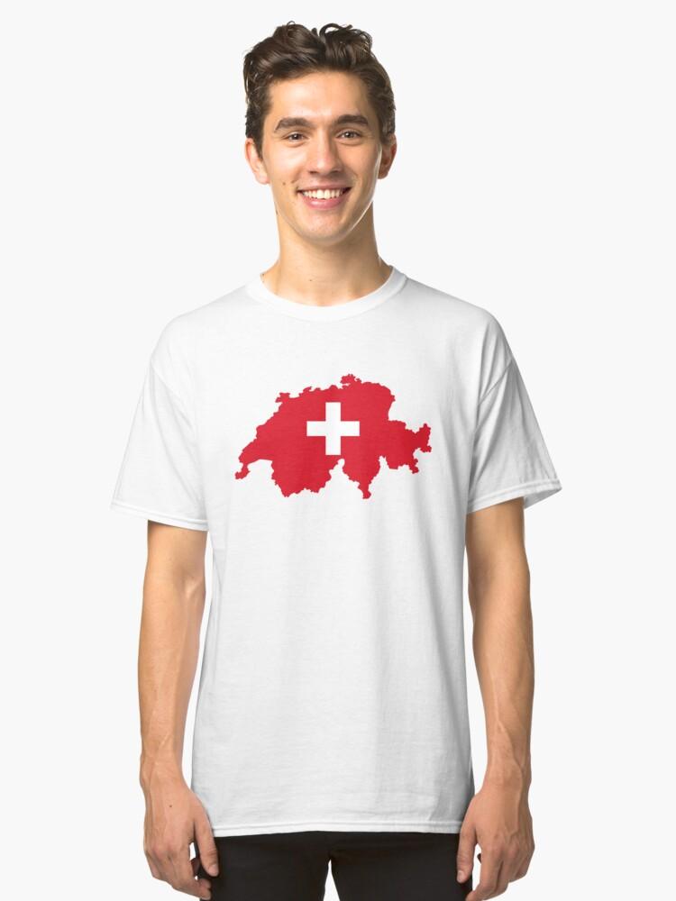 Switzerland Classic T-Shirt Front