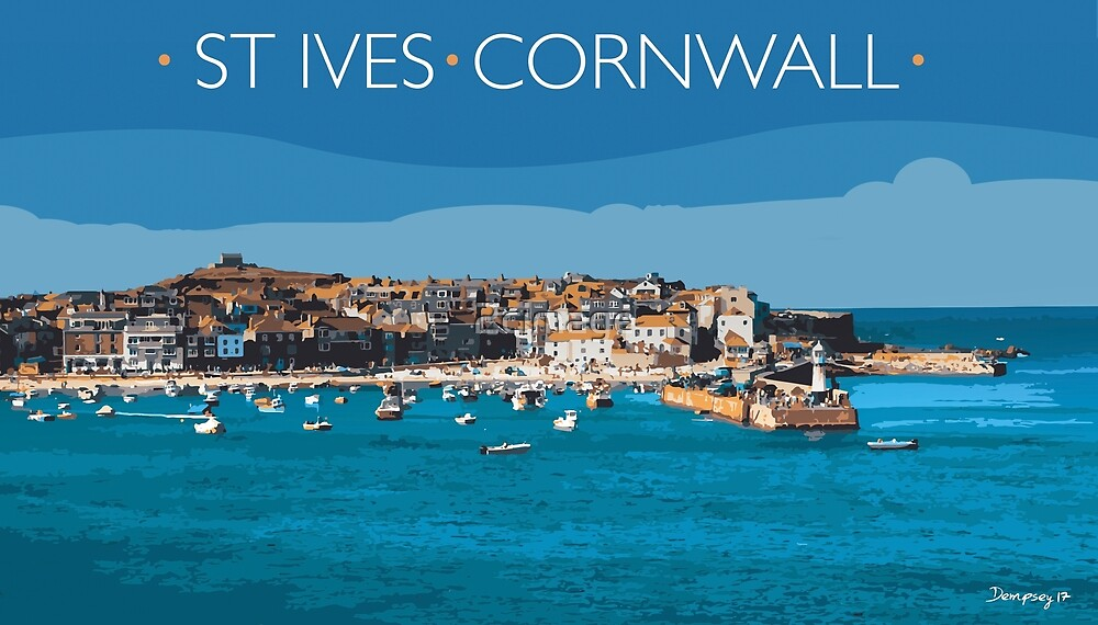 St Ives, Cornwall, England by 2cimage