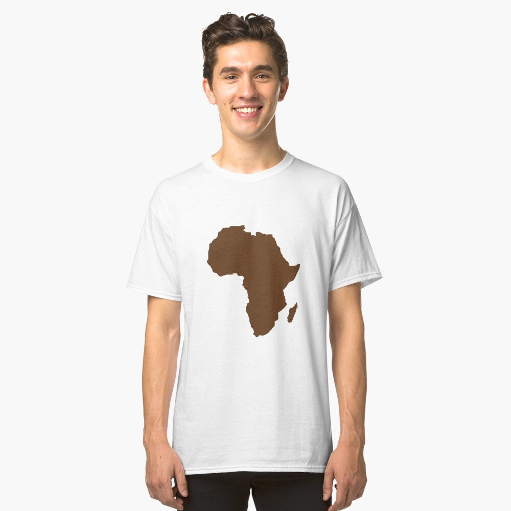 africa Classic T-Shirt Front