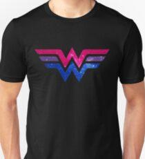 Wonder Pride - Bisexuell Slim Fit T-Shirt