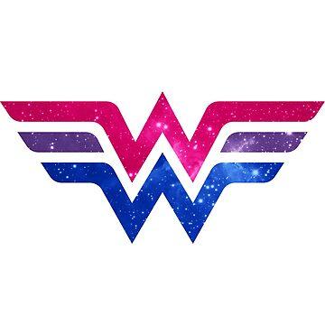 Wonder Pride - Bisexual by barflybart