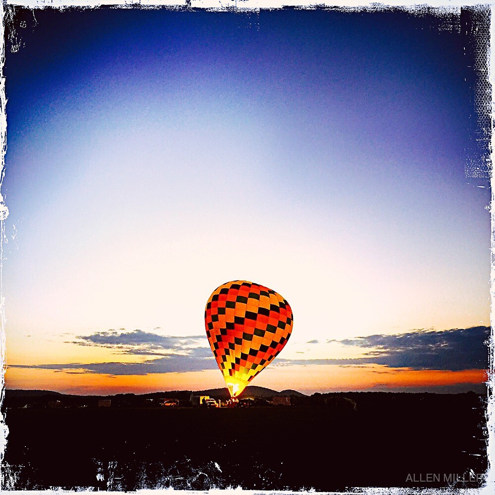 Hot Air Balloon by ALLEN MILLER