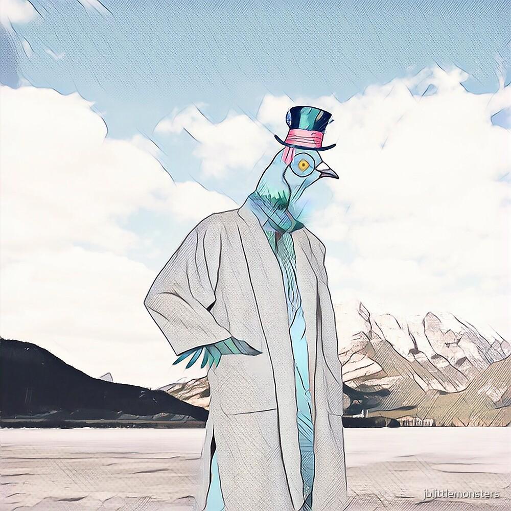 Mr. Pigeon  by jblittlemonsters