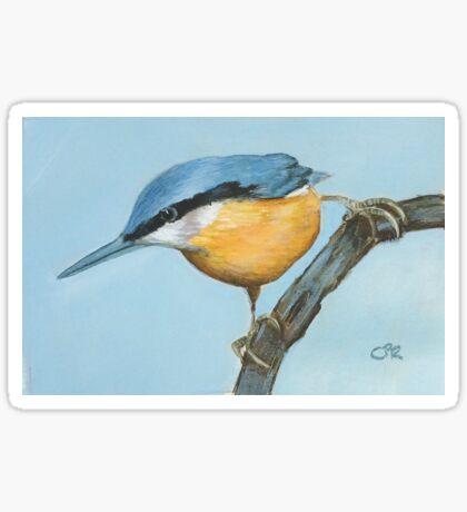 Mum's birthday card - Kingfisher Sticker