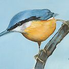Mum's birthday card - Kingfisher by Carole Russell