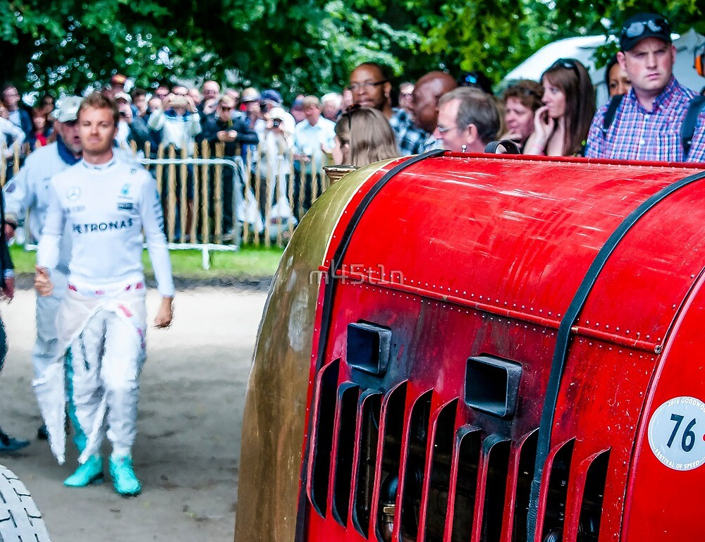 The Beast Of Turin Nico Rosberg by m45t1n