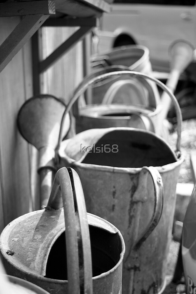 Watering cans by kelsi68