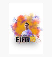 Fifa 18 - Ronaldo Photographic Print