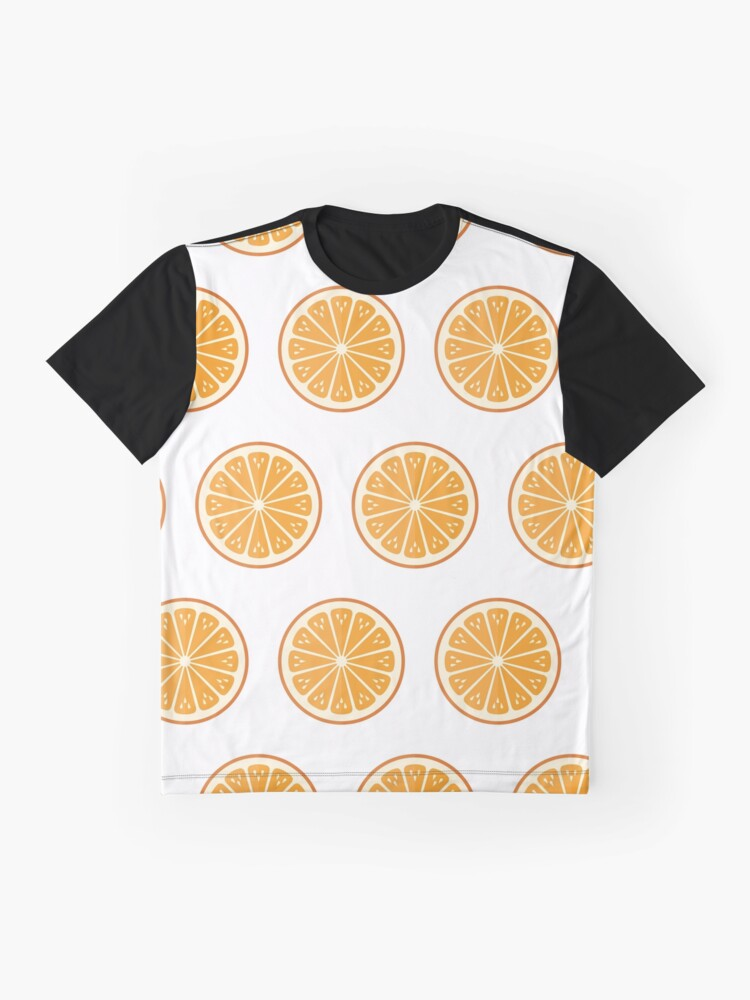 Alternate view of Oranges on white Graphic T-Shirt