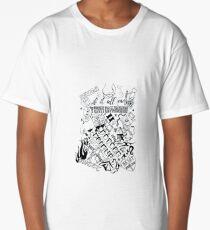Doodle Pages Long T-Shirt