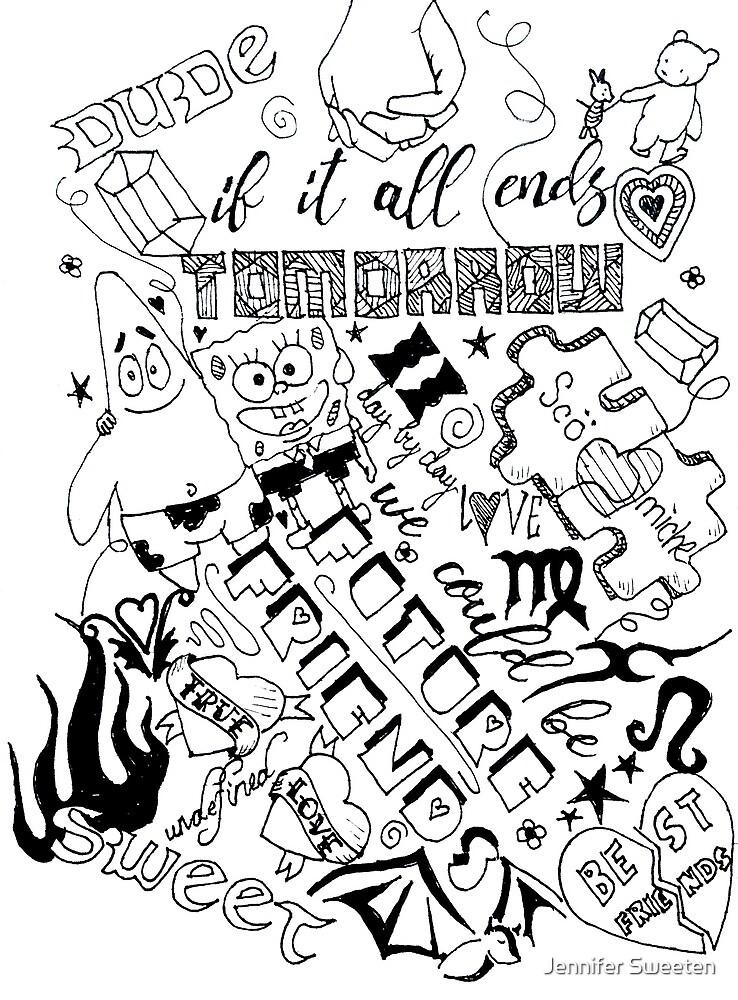 Doodle Pages by Jennifer Sweeten