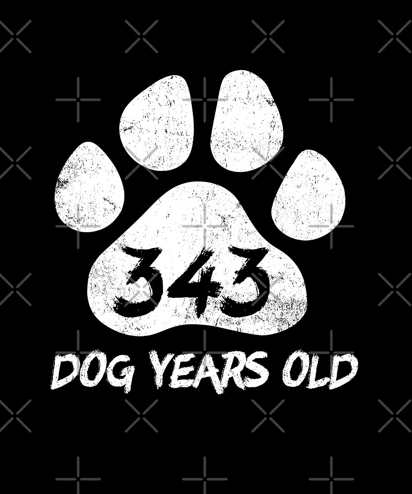 Dog Years Old Funny 49th Birthday Novelty Gift by SpecialtyGifts