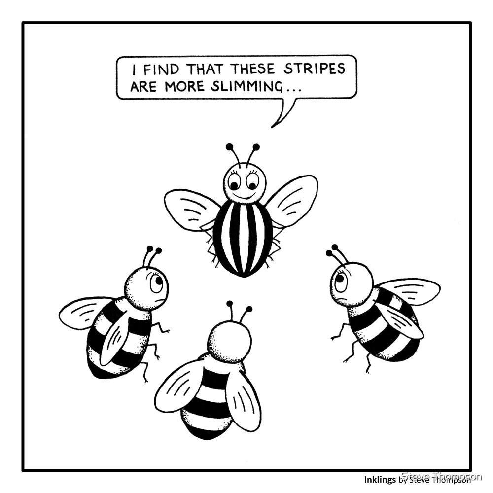 Bee fashion by Steve Thompson