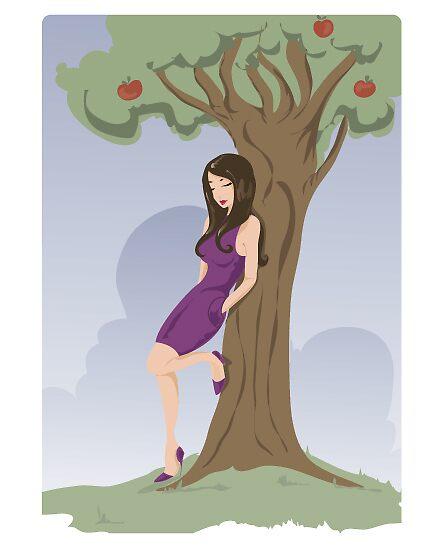 Apple tree  by Ilokatz