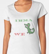 Florida Strong Irma the Alligator Storm Women's Premium T-Shirt