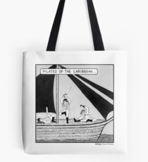 Pilates of the Caribbean Tote Bag