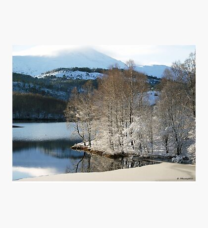 Icy Reflection Photographic Print