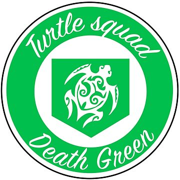 Turtle squad green logo by deathgreen