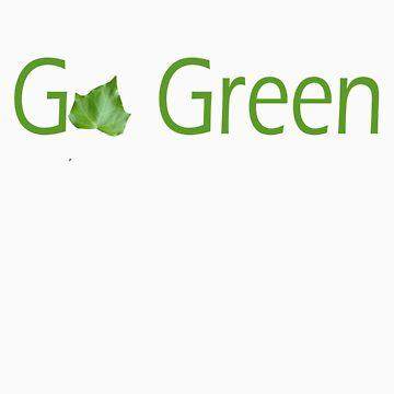 Go Green Tee by NOLAlphabet