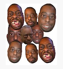 Beetlejuice Head Lester Green Stern Show Photographic Print