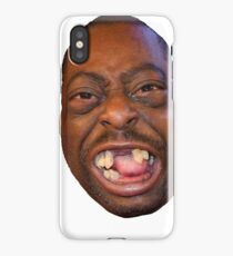 Beetlejuice Head Lester Green Stern Show iPhone Case/Skin