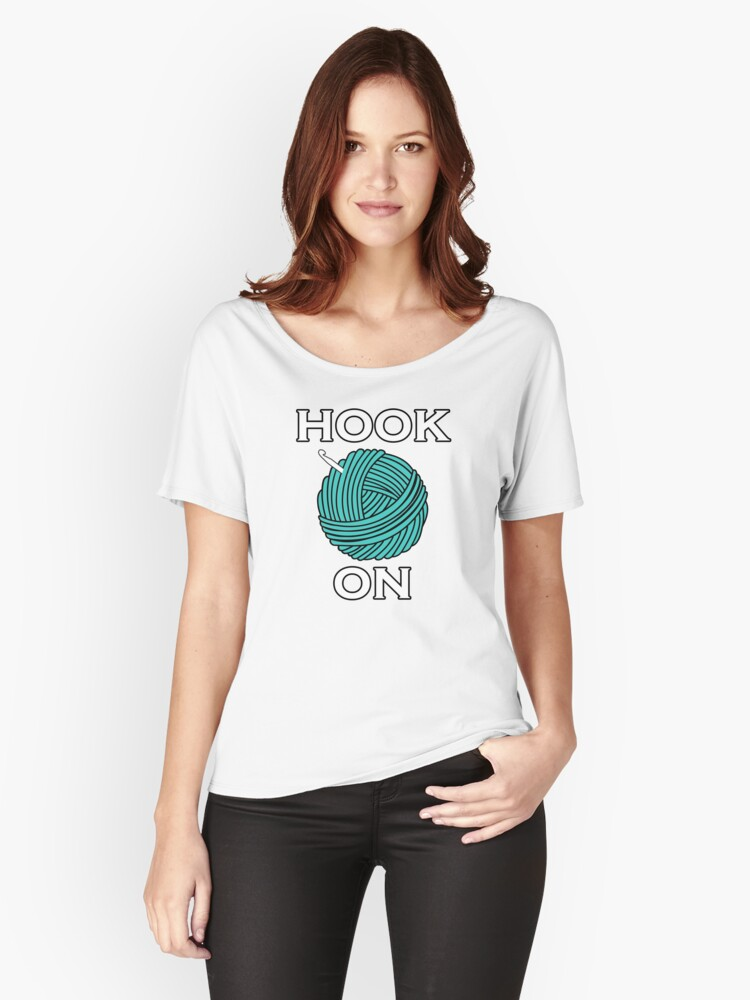 Hook On Women's Relaxed Fit T-Shirt Front