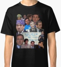 Michael Scott World's Best Boss Classic T-Shirt