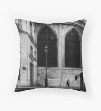 Paris Saint-Gervais Throw Pillow