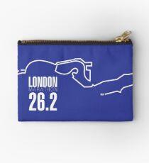 London Marathon route map Studio Pouch