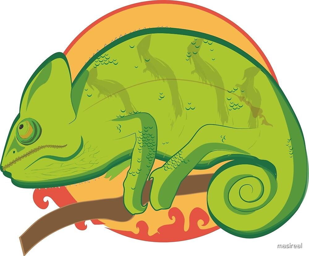 Iguana by masireal