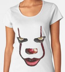 Stephen Kings Pennywise IT Women's Premium T-Shirt