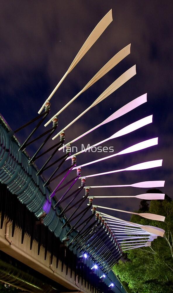 Bridge & Paddle by Ian Moses