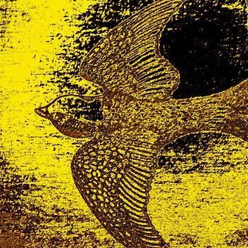 Golden Swallow by RenaeMackay