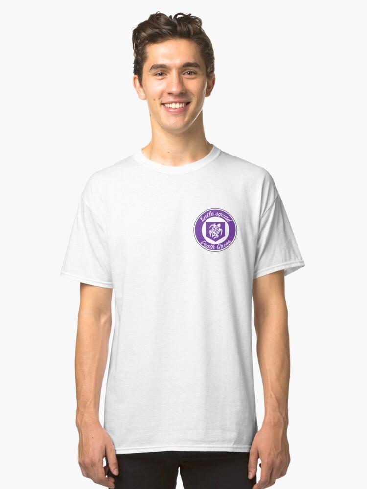 Purple turtle squad logo Classic T-Shirt Front