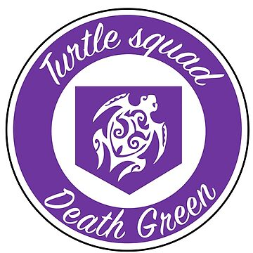 Purple turtle squad logo by deathgreen