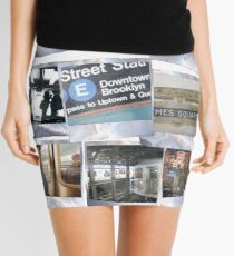 Polaroids Mini Skirt