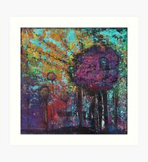 Arbor Abstract Painting Art Print